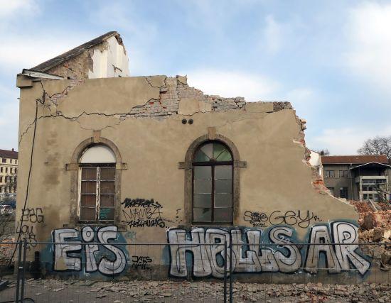 Vor einem Jahr waren das Eisenlager und das Kesselhaus abgerissen worden.