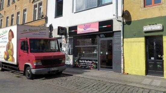 Neu: Eiscafé Venezia auf der Alaunstraße
