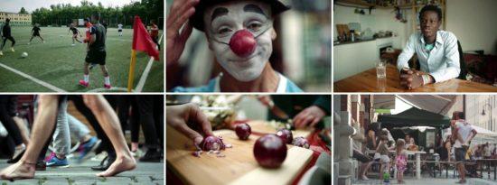 """Szenen aus Javiers Film """"The New City"""""""