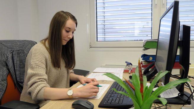 Caroline Roch - Auszubildende als Kauffrau für Spedition und Logistikdienstleistung