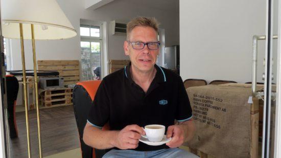 Eröffnet demnächst das Café Kaffee-Klappe: Marcus Tilpe