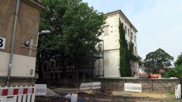Die Dreikönigschule wird derzeit saniert.