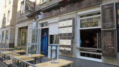 Pizza Bite auf der Alaunstraße