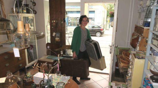 Geht bald auf Reisen: Martina John