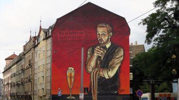 Wandbild von Lars P. Krause und Bandits and Friends.