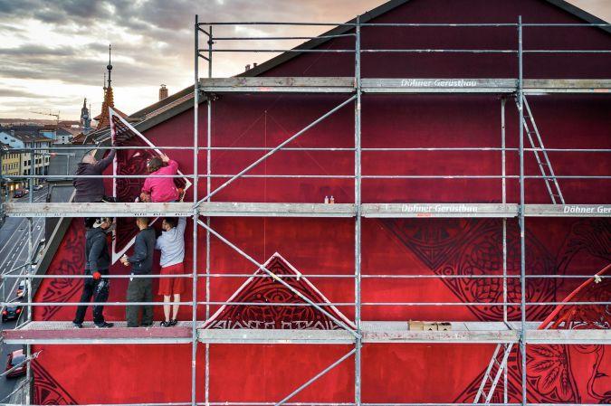 die Wand - Foto: Red Tower, Michael Schmidt