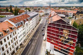 Die Wand von oben - Foto: Red Tower, Michael Schmidt