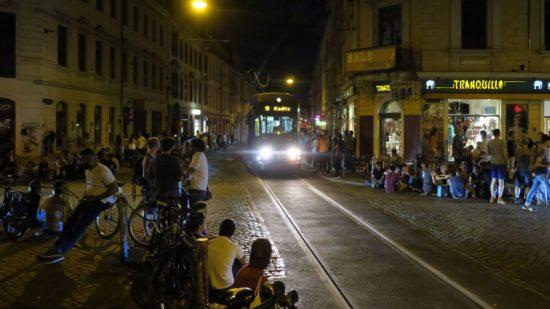 Die soziale Ecke muss für ein paar Tage ohne Straßenbahn auskommen - Foto: Archiv