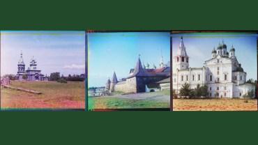 Einige der wohl ersten Farbfotos aus Russland.
