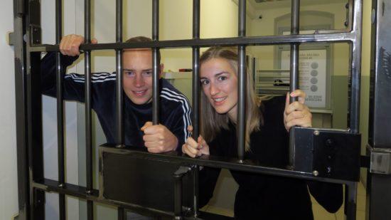 Sie wissen, wie man rauskommt: Margrit Jespersen und Dennis Stadler