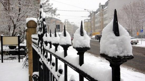 Schnee an der Königsbrücker Straße - Foto: Archiv 2010