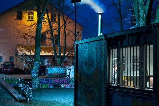Mittwoch-Tagung im BRN-Büro im Container am Lehrerparkplatz mit der BRN-Koordinatorin Ulla Wacker - Foto: Bildermann