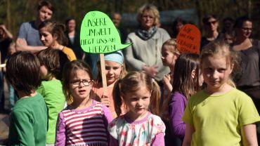 Kinder der Natur- und Umweltschule. Foto: Susanne Keichel
