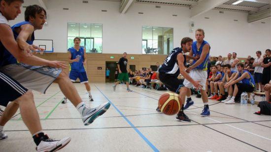 """Basketballer des Vereins """"Aus Liebe zum Spiel"""" - kurz ALZS"""