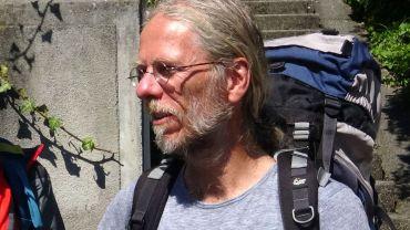 Wanderer und Ukulelenspieler Andreas Zöllner
