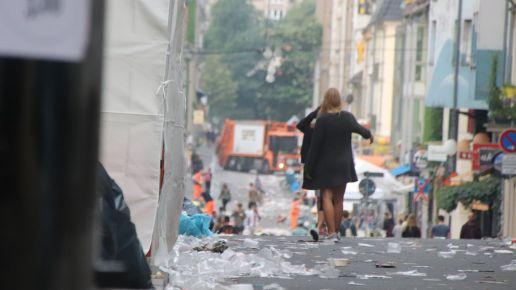 Tanz im Müll