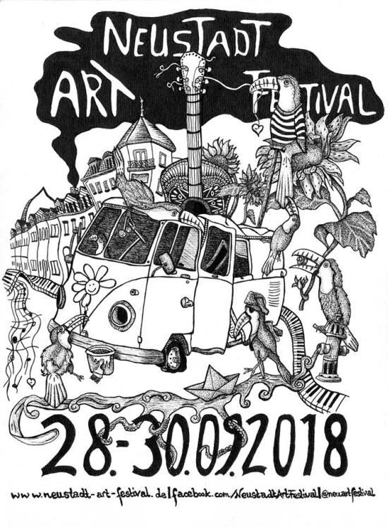 Neustadt-Art-Festival vom 28. bis 30. September