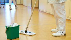 Einsatzgebiete für Gebäudereiniger gibt es im Diakonissenkrankenhaus viele.