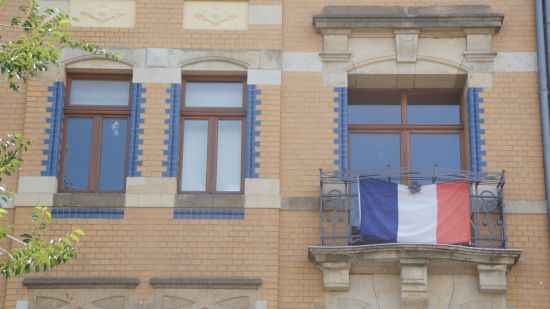 Französisches Flair auf der Friedensstraße