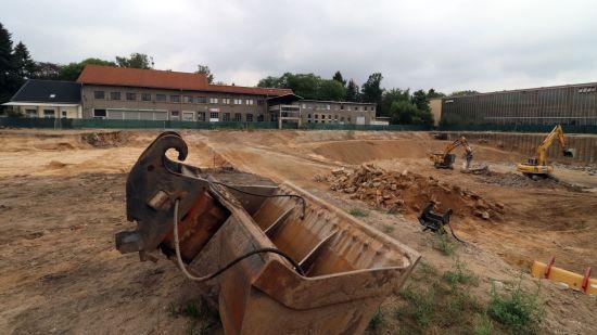 Haus Sieben neben der Schulbaugrube - der Abriss soll im Frühjahr erfolgen.