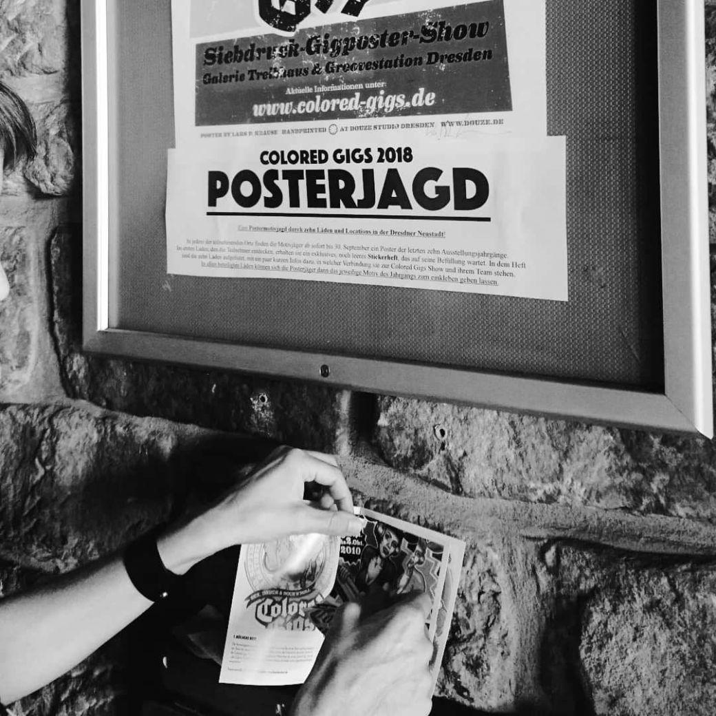 Stickerheft zur Posterjagd