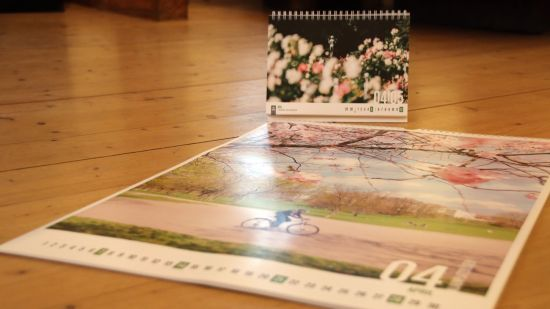Großer und kleiner Kalender mit Neustadt-Motiven