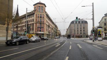 Überdurchschnittlich laut: die Bautzner Straße