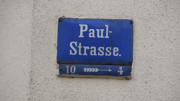 Die Paulstraße ehrt einen Paul, den niemand kennt