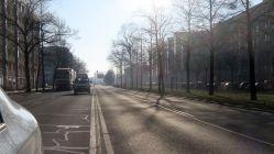Albertstraße in Richtung Carolaplatz