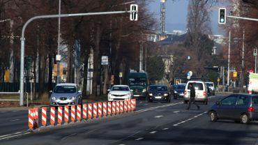 Bleibt vierspurig für Autos - Alberstraße