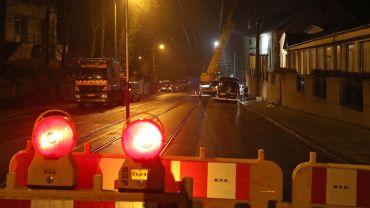 Bautzner Landstraße komplett gesperrt. Foto: Roland Halkasch