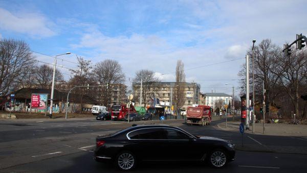 Nördlich der Stauffenbergallee sollen die Radwege verbessert werden.