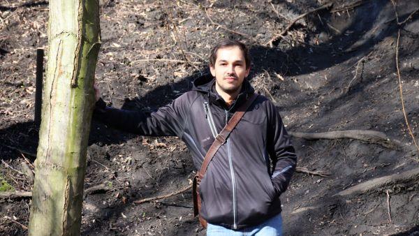 Konstantin Schanze, Sprecher des Forstbezirks Dresden.