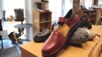 Schuhe in allen Farben und Formen