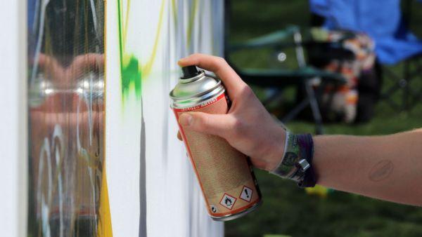 Graffiti werden meist auf Fassaden aufgesprüht