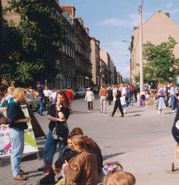 Szene von der BRN 1990 - Foto: Stadtteilarchiv