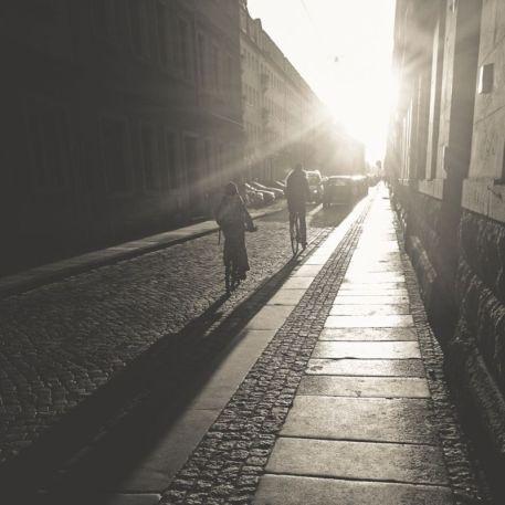 Die Sebnitzer Straße, festgehalten von Katja