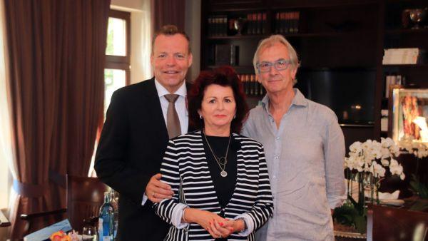 Drei von rund 40 Unterzeichnern des Offenen Briefes: Ralf Kutzner, Viola Klein und Peter Prager.