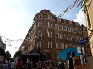 Die Fichtenstraße zum Sonntagnachmittag.