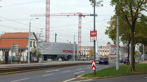 Porsche-Zentrum an der Großenhainer Straße - Foto: W. Schenk