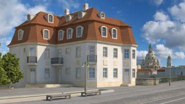 Entwurf Martin Trux, Architekt, Dresden - Visualisierung: Andreas Hummel, arte 4d