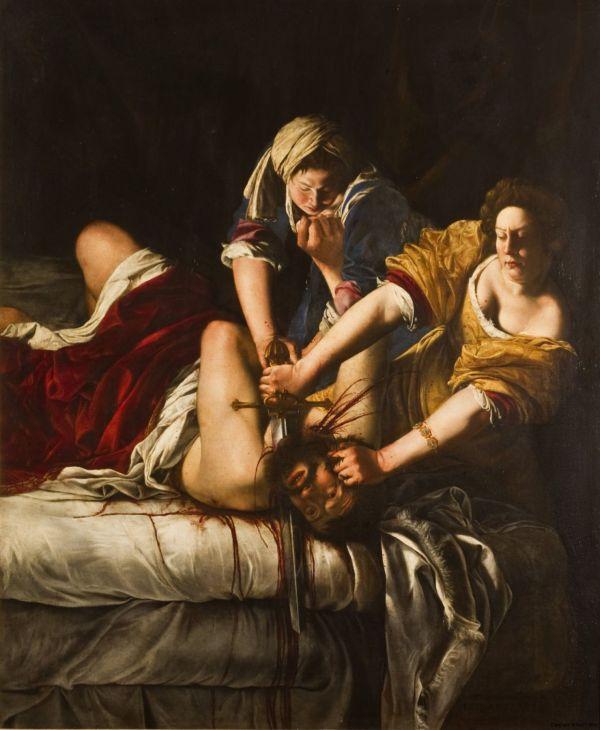 Judith und Holofernes von Artemisia Gentileschi.
