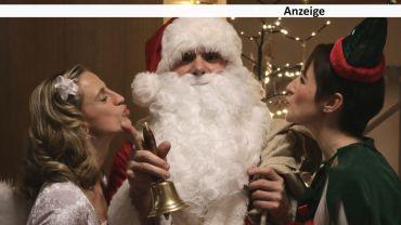 Weihnachtsmänner küsst man nicht. Oder doch? Foto: B2MS GmbH