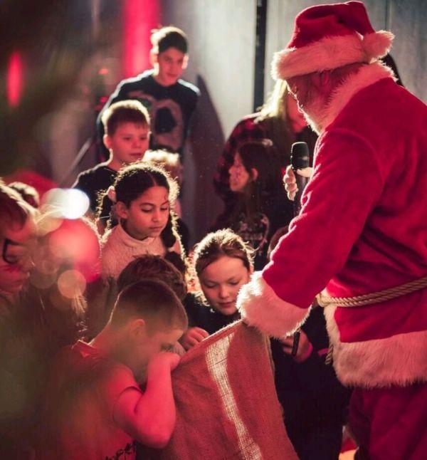 Kinderweihnacht beim SC Borea - auch für dieses Jahr hat sich der Weihnachtsmann angekündigt. Foto: SC Borea