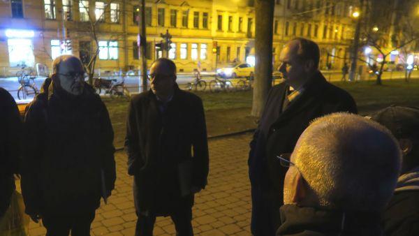 Rainer Pietrusky, André Barth und Dirk Hilbert