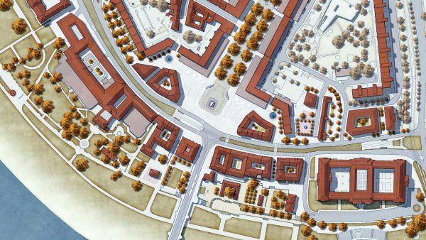 So sieht der Sieger-Entwurf für den Neustädter Markt aus.