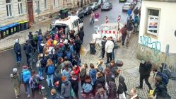 Femstreik-Demo auf der Louisenstraße