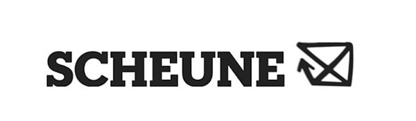 Der Grafiker vom Scheune-Verein hat schon mal einen Entwurf für das neue Logo des Hauses vorgelegt.