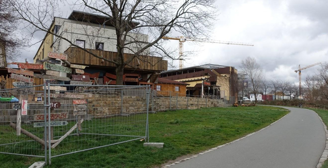 Citybeach-Wiese. Foto: W. Schenk