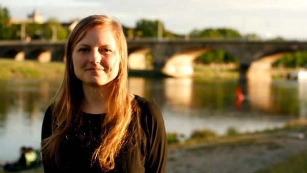 Linda Kolata engagiert sich seit über 10 Jahren in der Dresdner Ortsgruppe von Greenpeace.